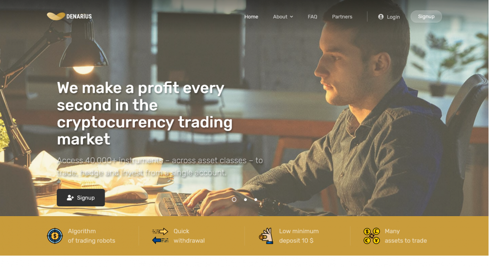 Cryptocurrency investment hyip script