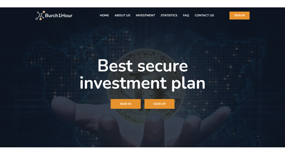 HYIP script for investment in trade