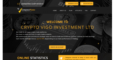Unique script for HYIP investments in bitcoins DEM..